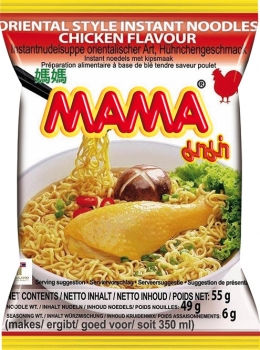 Instant Nudeln Huhn Mama 55g
