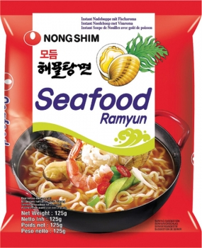 Instant Nudeln Seafood Ramyun Nongshim