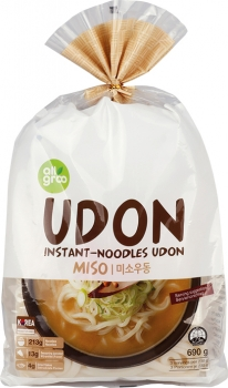 Instant Nudeln Udon Miso Allgroo 690g